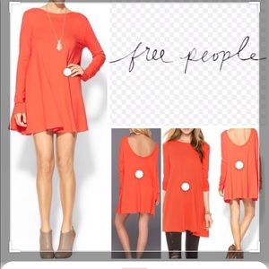 FP Beach (by Free People )Tunic in color Poppy/XS